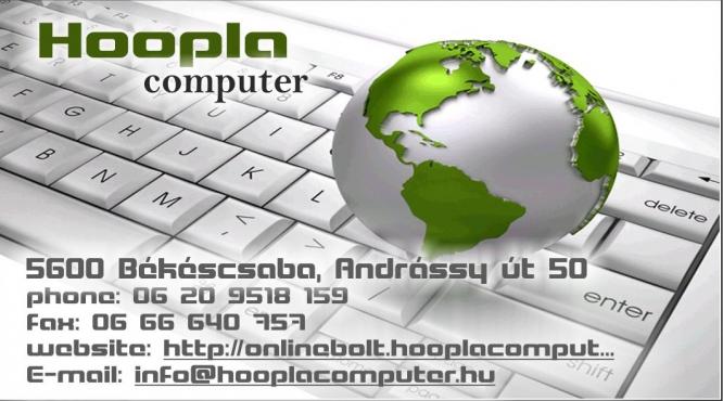 Számítógép szaküzlet Békéscsaba Hoopla Computer  4fae843d4e